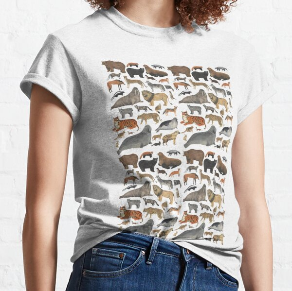 Wildlife Animals Classic T-Shirt