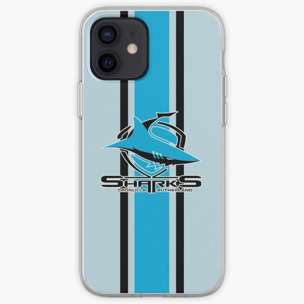 HD logo of Cronulla-Sutherland Sharks iPhone Soft Case