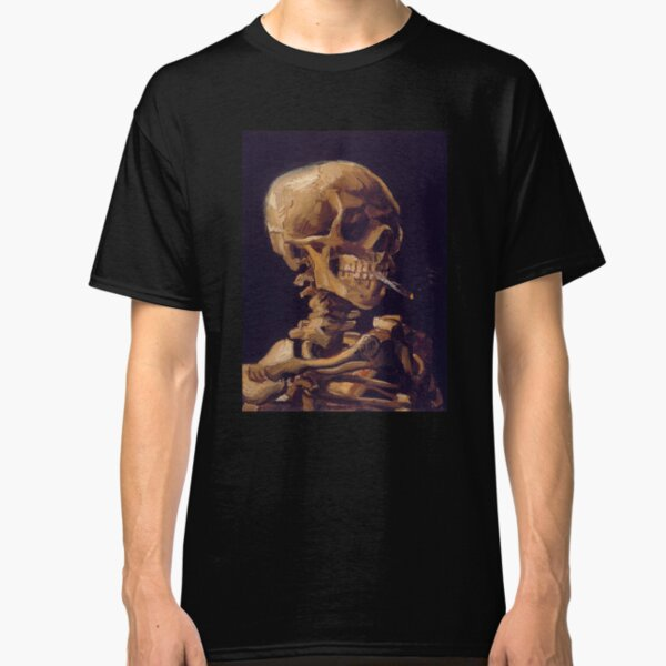 Vincent Van Gogh's 'Skull with a Burning Cigarette'  Classic T-Shirt