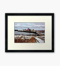 Winter at Stonehurst Framed Print