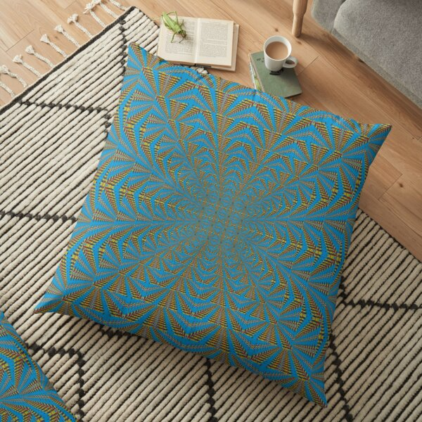 Motif, Visual arts, Psychedelic Floor Pillow