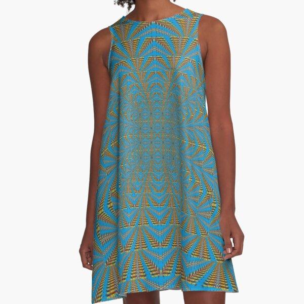 Motif, Visual arts, Psychedelic A-Line Dress