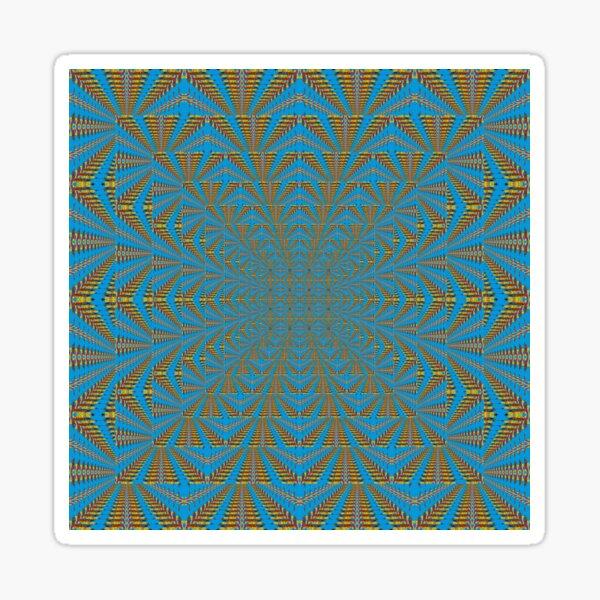 Motif, Visual arts, Psychedelic Glossy Sticker