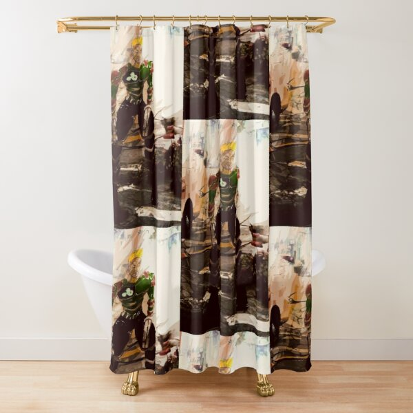 Sirocco of Ghost Squad  Shower Curtain
