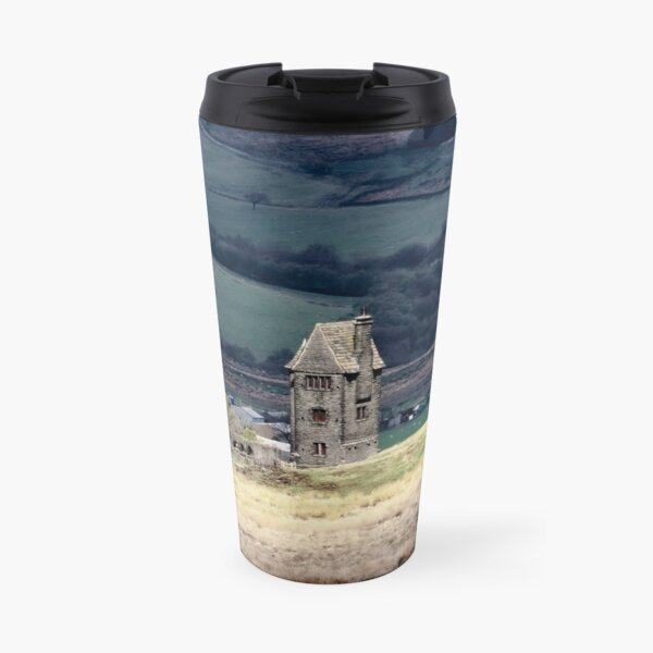 The Pigeon Tower, Winter Hill, Lancashire Travel Mug