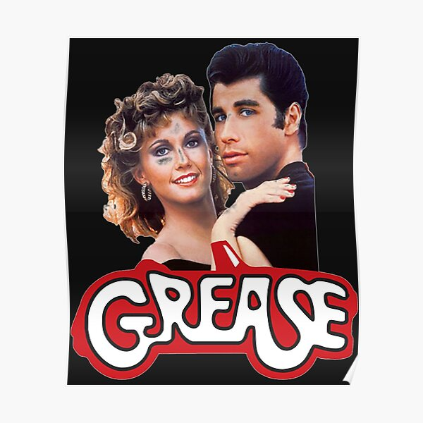 Posters Sur Le Theme Grease Redbubble