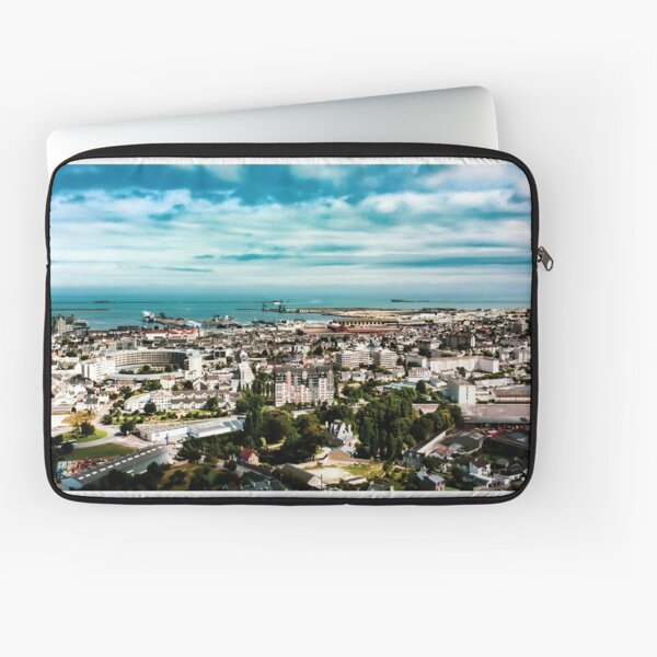 Port of Cherbourg Laptop Sleeve