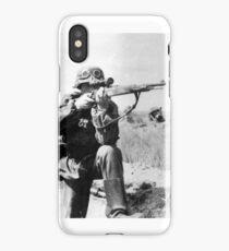 WWII sniper iPhone Case/Skin
