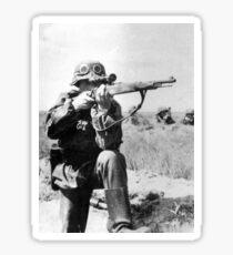 WWII sniper Sticker