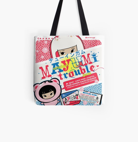 Trouble Gum All Over Print Tote Bag