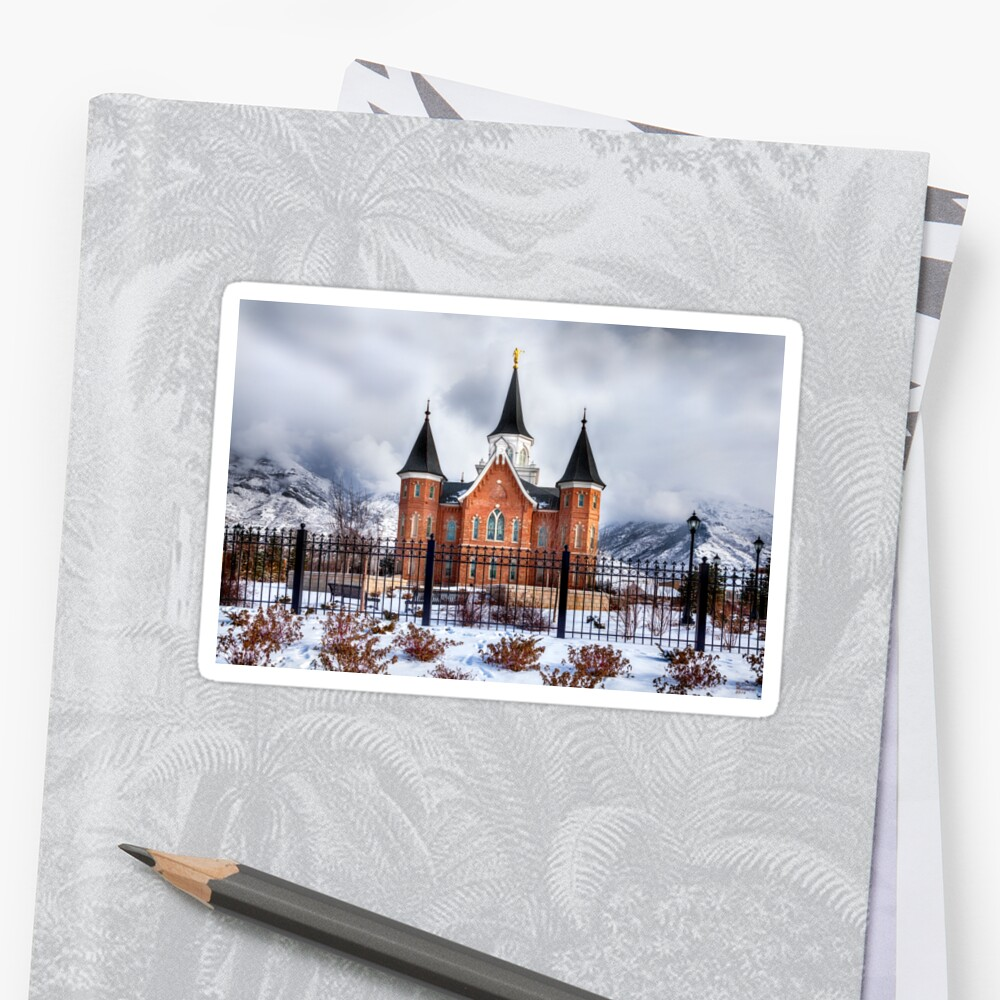 Provo City Center Temple Canvas Print, LDS Wall Art, Photographic ...