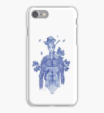 Ball point tree alien iPhone Case/Skin