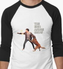 The Eric Andre Show Men's Baseball ¾ T-Shirt