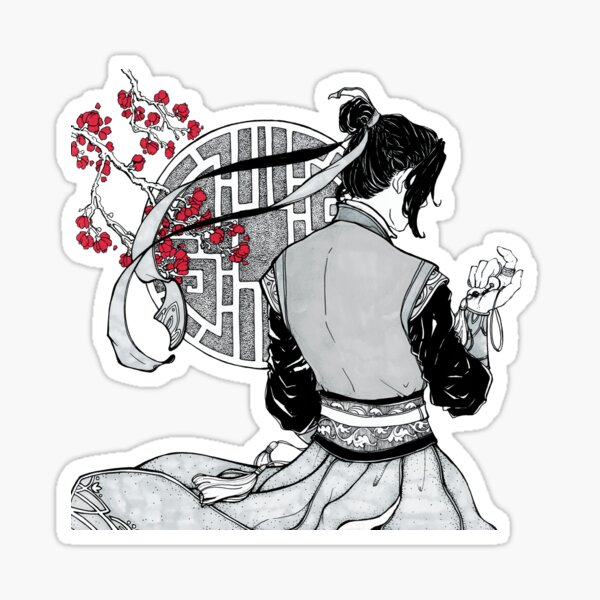 Jiang Cheng aus Yunmeng Sticker