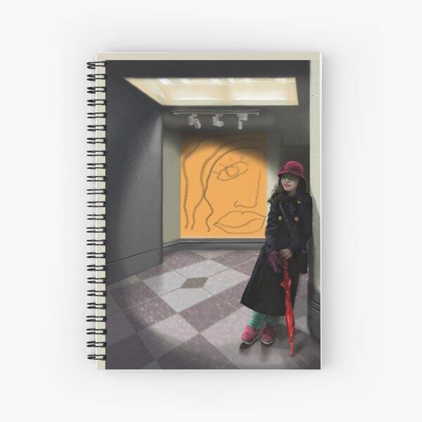 Urban Lady #2 Spiral Notebook