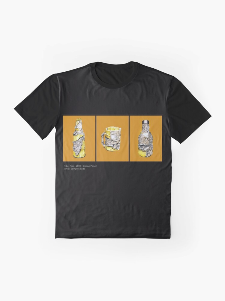 Alternate view of Pres (Colour pencil drawing) Graphic T-Shirt