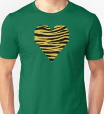 0407 Meat Brown Tiger Unisex T-Shirt