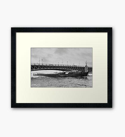The Neva River Framed Print