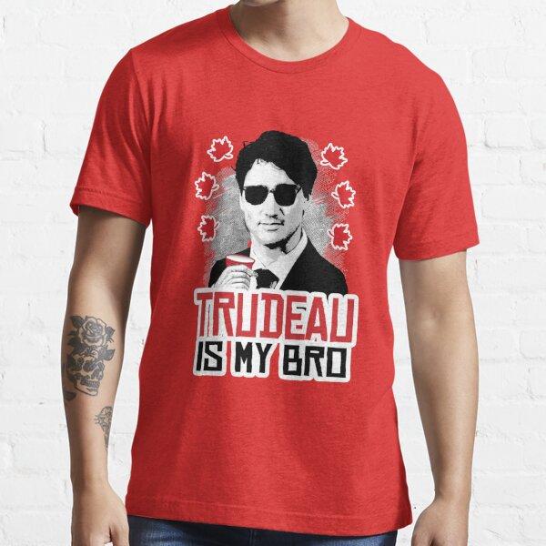 Trudeau es mi hermano Camiseta esencial
