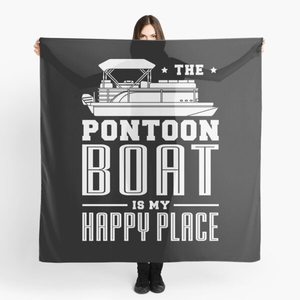 Pontoon boat Gifts for a Boat Fan Scarf