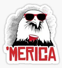 Pegatina 'Merican Eagle