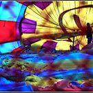 Inside a Hot Air Balloon by Wolf Sverak