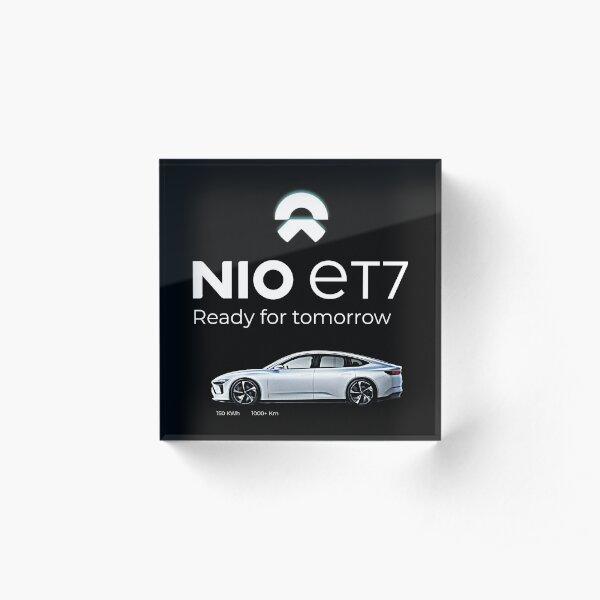 NIO ET7 Ready for tomorrow Acrylic Block