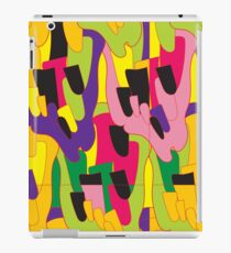 Abstract bright colorful vector pattern iPad Case/Skin