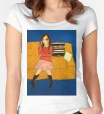 River Tam- Safe Women's Fitted Scoop T-Shirt