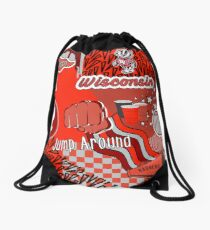 Wisconsin University Drawstring Bag