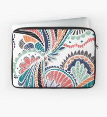 Abstract Floral Tangles Laptop Sleeve
