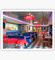 Cadillac Diner.... Sticker