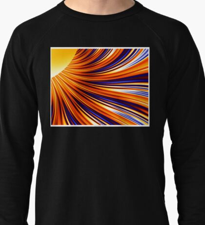 Color & Form Abstract - Solar Gravity & Magnetism 3 Lightweight Sweatshirt