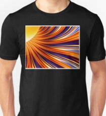 Color & Form Abstract - Solar Gravity & Magnetism 3 T-Shirt