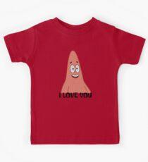 Patrick liebt dich - Spongebob Kinder T-Shirt