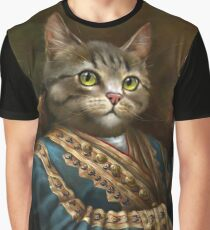 The Hermitage Court Outrunner Cat  Graphic T-Shirt