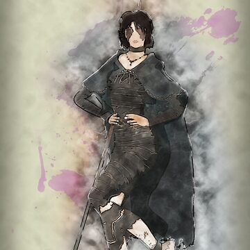 Maiden in Black Posing by hoodwinkedfool