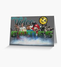 Video Games ! Greeting Card
