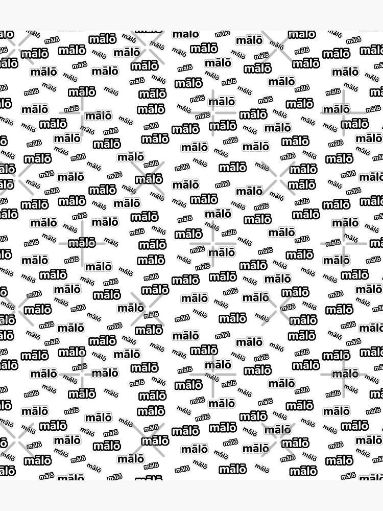Malo Hello Samoan Tongan Language Design by Islandize