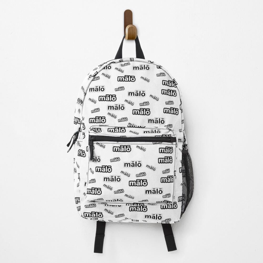 Malo Hello Samoan Tongan Language Design Backpack