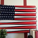 America's pass time is baseball....and today is Flag Day by DonnaMoore