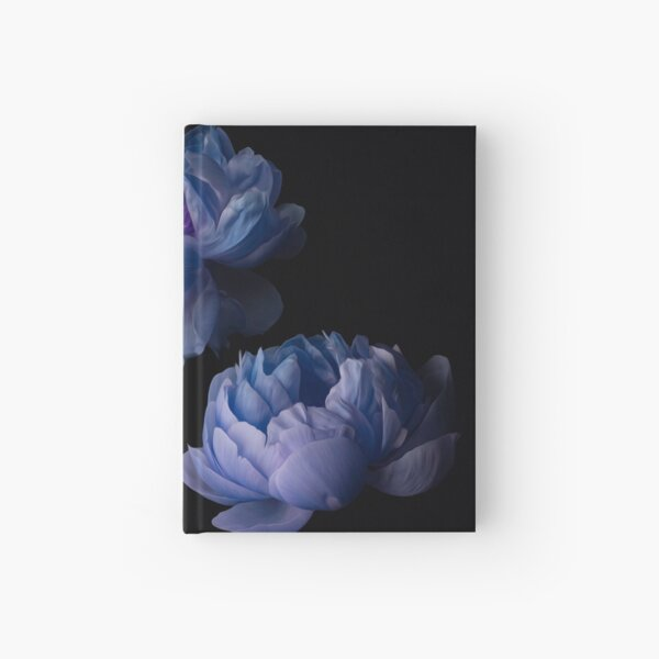 Blue Peonies Hardcover Journal