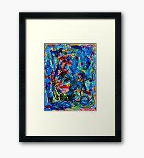 Cool Blue Framed Print