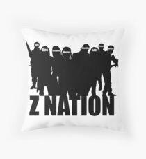 Z Nation Silhouette Throw Pillow