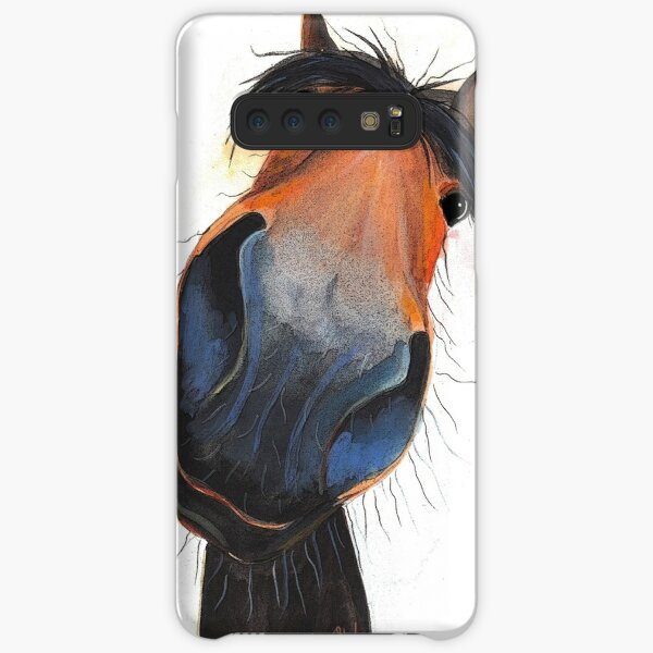 HORSE PRiNT 'HAPPY DAVE' BY SHIRLEY MACARTHUR Samsung Galaxy Snap Case