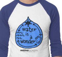Water is a Wonder Men's Baseball ¾ T-Shirt