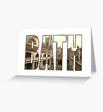 Bath Greeting Card