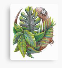 Lucky Lizard  Canvas Print