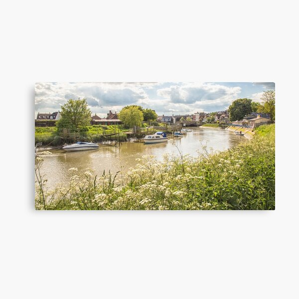 May morning in Sussex Canvas Print