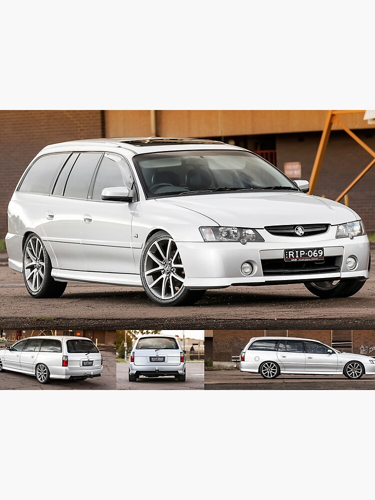 Silver Holden VY Commodore Wagon | Photographic Print